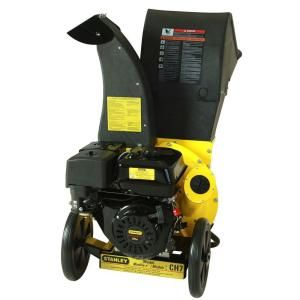 Want this for the yard: Stanley 3 in. 11 HP 270 cc Chipper Shredder-CH7 at The Home Depot