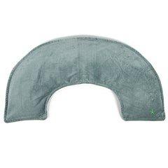 Coussin cervical chauffant vert - Un souffle de chaleur pour détendre trapèzes et épaules  Forme ergonomique qui épouse parfaitement le cou Reste chaud pendant 40 minutes Idéal pour dénouer les tensions