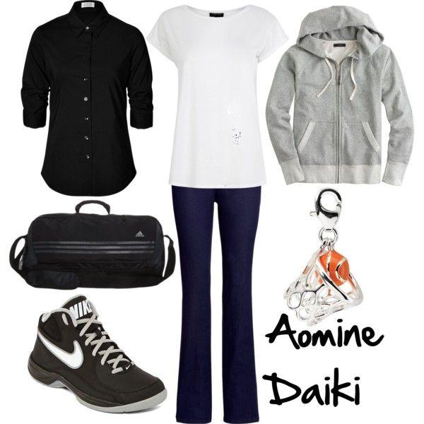 """Aomine Daiki"" by winterlake25 on Polyvore"