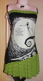Nightmare before Christmas clothes   side corset nightmare before christmas dress