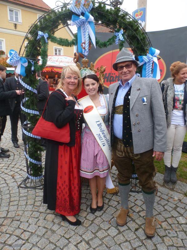 Die Königin mit den Ideengebern Rosl&Bertl