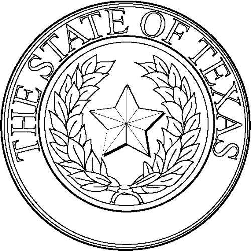 362 best seals of the states and other seals images on for State of texas symbols coloring pages