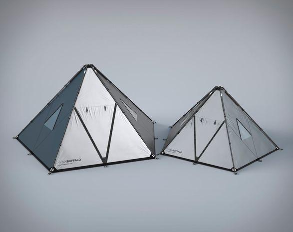Alien Buffalo é uma nova marca que projeta equipamentos de campismo modernizado.Sua nova linha de tendas é construída especificamente para o uso enquanto viaja, em expedições e ao ar livre, é inspirada pelo projeto estru