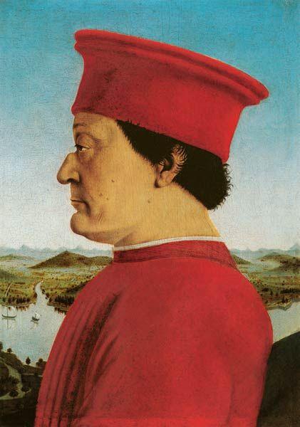 """Piero della Francesca """"Federico da Montefeltro"""""""