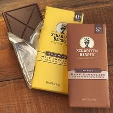 Specializing in dark chocolate, Scharffen Berger Chocolate Maker is a premier chocolate manufacturer. It executes each step of the manufacturing process itself, all the way from bean to bar, to ensure that its finished chocolate delivers a flavor like no other