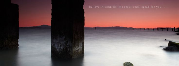 Believe in yourself facebook cover