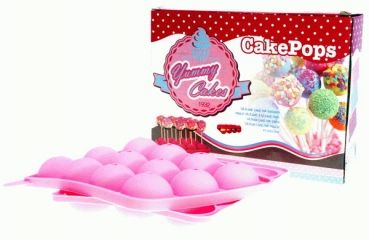 hollandproducten.com - Deutscher Hollandshop für holländische Lebensmittel und mehr! - Silicone CakePops Bakvorm (12 Cake Pops)