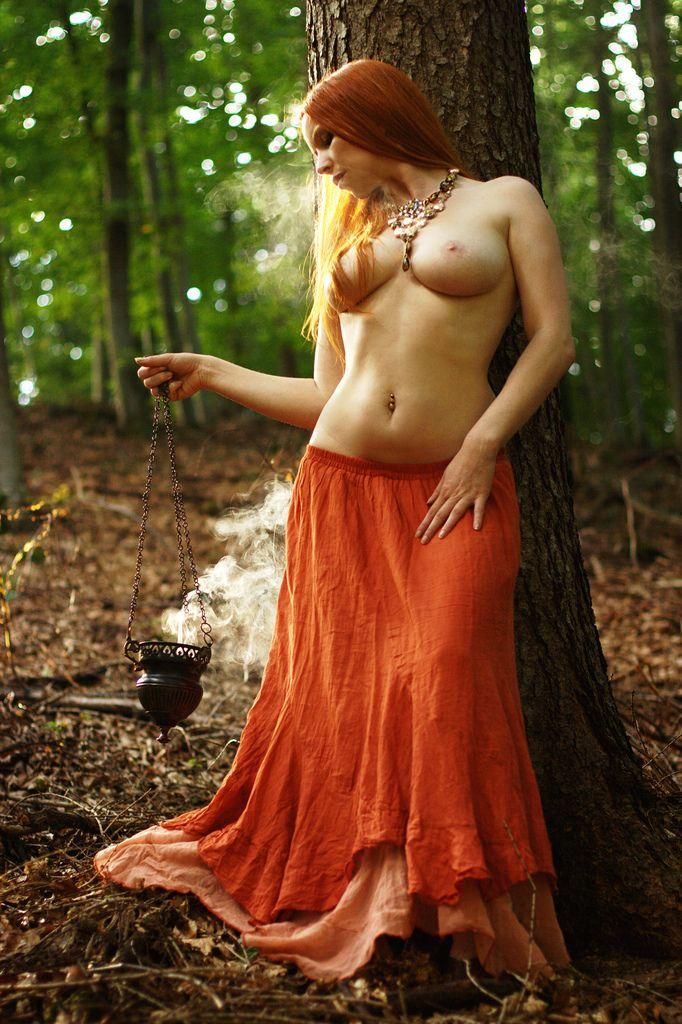 satanic naked witch sex