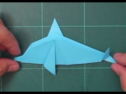 How to make an Origami Dolphin - YouTube