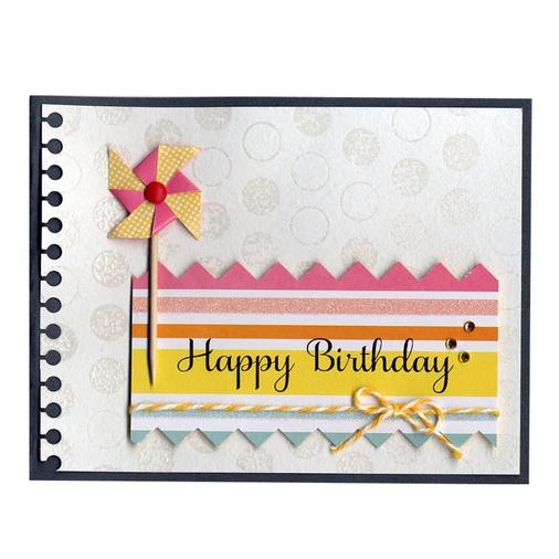 Pinwheel Birthday Card: Card Idea, Pinwheels Birthday, Cardmak Idea, Card Birthday, Punch Birthday, Birthday Cards, Birthday Idea, Card Galor, Card Crazy