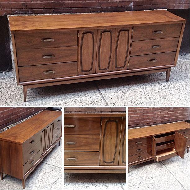 Vintage Broyhill Emphasis Credenza/Dresser. Please click ...