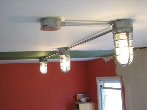 Repaint Outdoor Light Fixtures