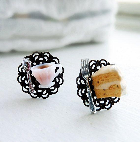 tea party: Miniatures Food, Parties Earrings, Celebs Lovi, Kimberly Teas, Earrings Miniatures, Teas Culture, Food Jewelry Jewellery, Teas Parties, Things Miniatures