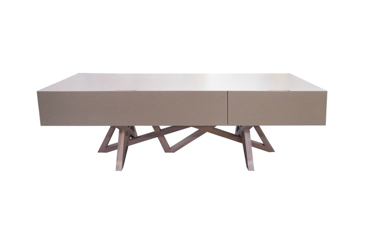 original design solid wood TV cabinet LES CONTEMPORAINS: SAGA  ROCHE BOBOIS