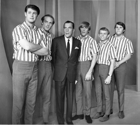 Beach Boys with Ed Sullivan... 1960'sMusic, Sullivans, Beach Boys
