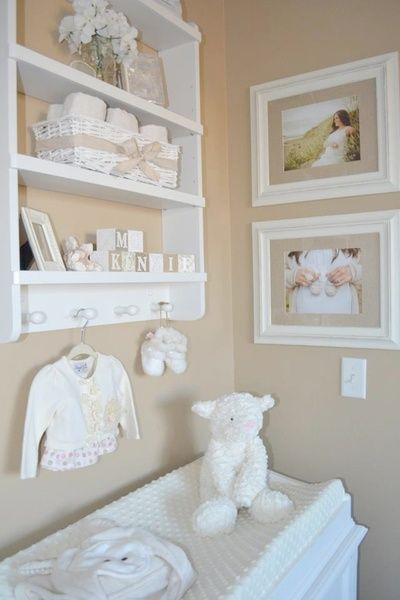 Simple Neutral Nursery | The Little Umbrella