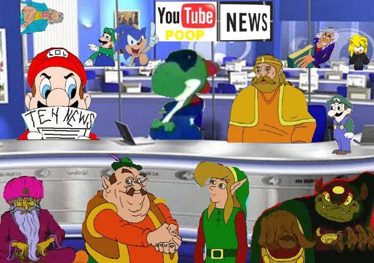 Youtube Poop News Newsroom by stuart23
