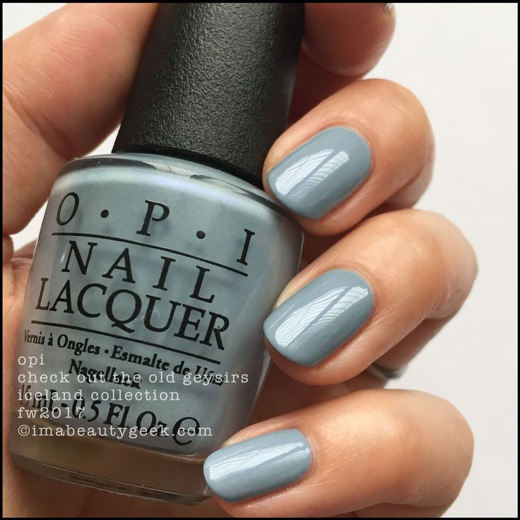 OPI Check Out The Old Geysirs - OPI Iceland 2017