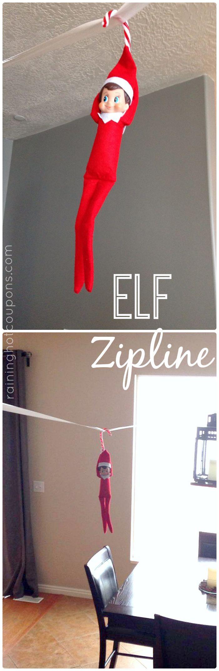 Elf on a Zipline