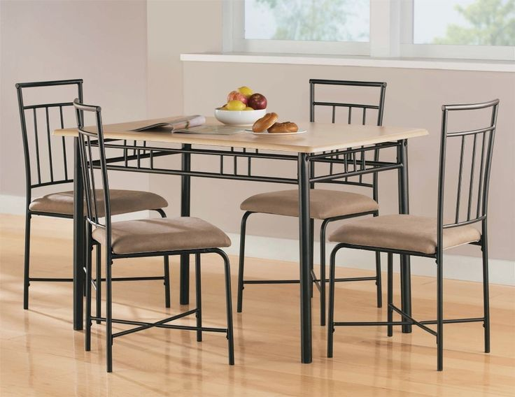 Kitchen Table And Chairs Set Part - 31: Kitchen: Classic Glass Dining Table And Chair Set Also Glass Dining Table  Set Designs From