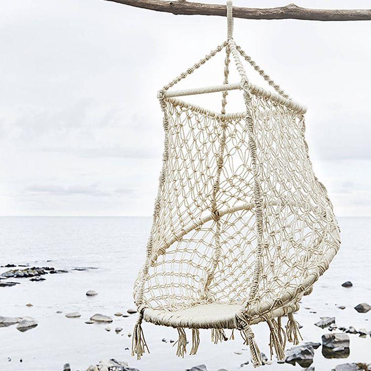 Hanging Rope Swing Seat