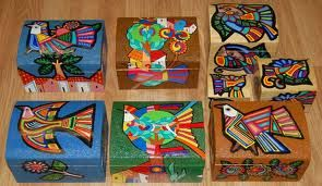 Art Therapy: Sharing Directives: Keeper Boxes