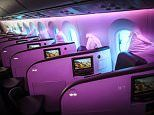 Review of Virgin Atlantic's upper class Dreamliner cabin | Daily Mail Online