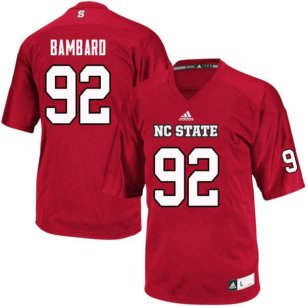 c759959126d Men  92 Kyle Bambard NC State Wolfpack College Football Jerseys Sale ...