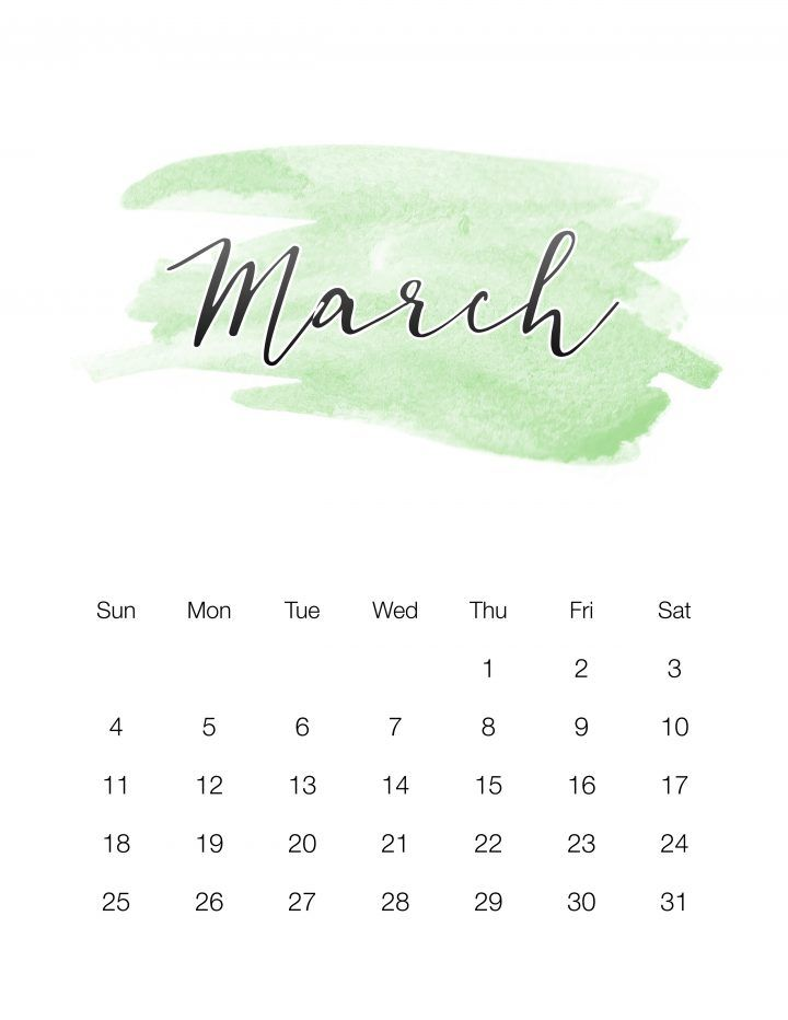 free printable 2018 17 calendar
