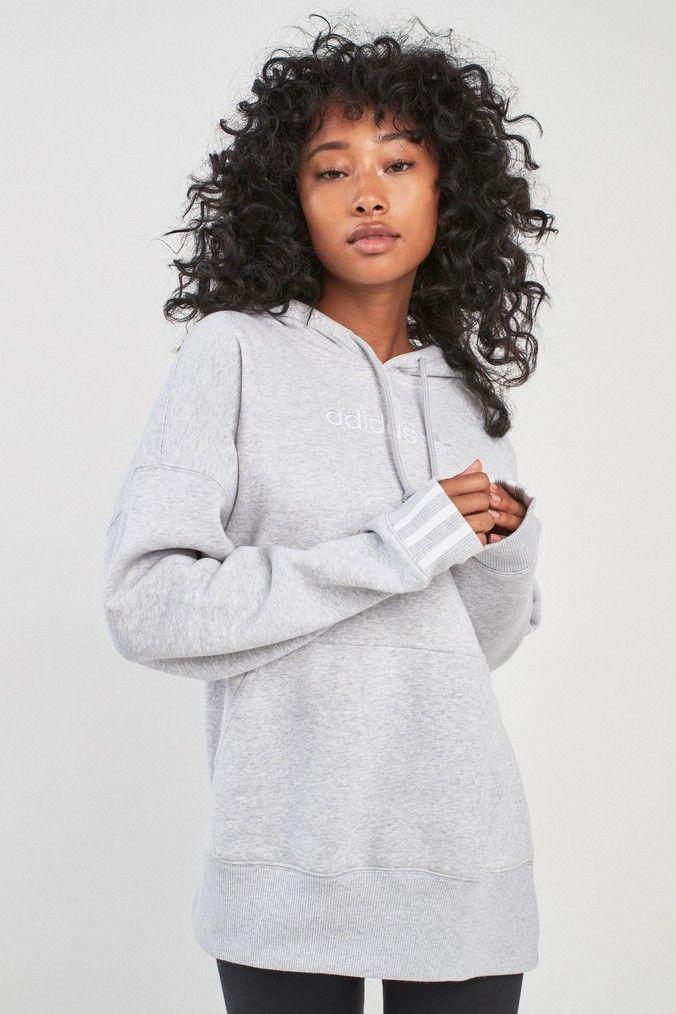 80d7a50fa Womens adidas Originals Coeeze Hoody - Grey in 2019 | Products ...