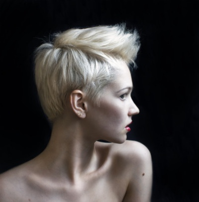 Short Hair is all the rage these days! Call Garbo to help make your pixie dreams come true! 512-458-4162!