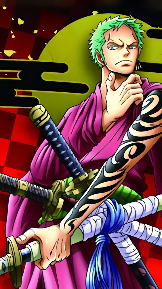 Zoro arm tattoo Wanokuni outfit | Anime luta, Anime, One piece