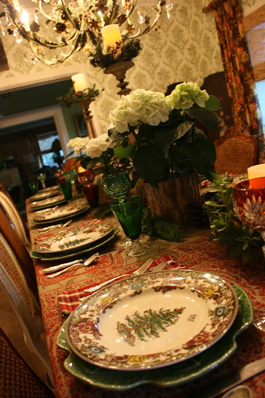 655 Best Christmas Tablescapes Images On Pinterest