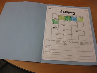 Student behavior calendars. Students color each day's box with the color corresponding to where their clothespin is on the clip it up behavior chart. They take the calendars home daily (or weekly) so parents can monitor their progress.