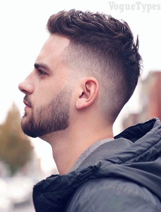 Trendy Short Haircuts For Men With Beautiful Beard Men Short Hairstyle And Haircuts Ideas Are The Most Popula Faded Hair Short Fade Haircut Cool Mens Haircuts