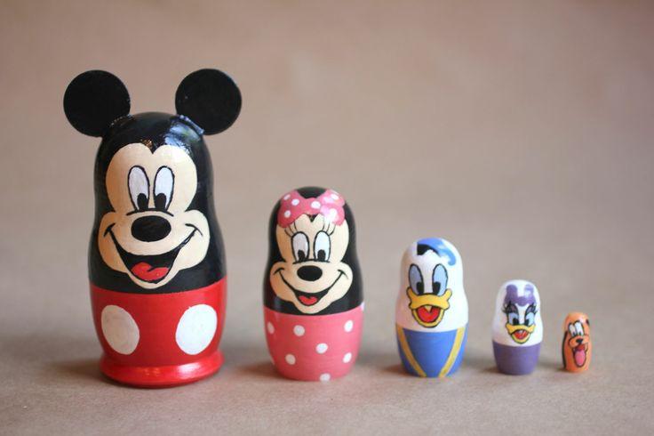 DIY Disney Nesting Dolls: Nesting Dolls, Disney Nesting, Disney Crafts, Babushka Dolls, Matryoshka Dolls, Things Disney, Craft Ideas, Diy, Repeat Crafter Me