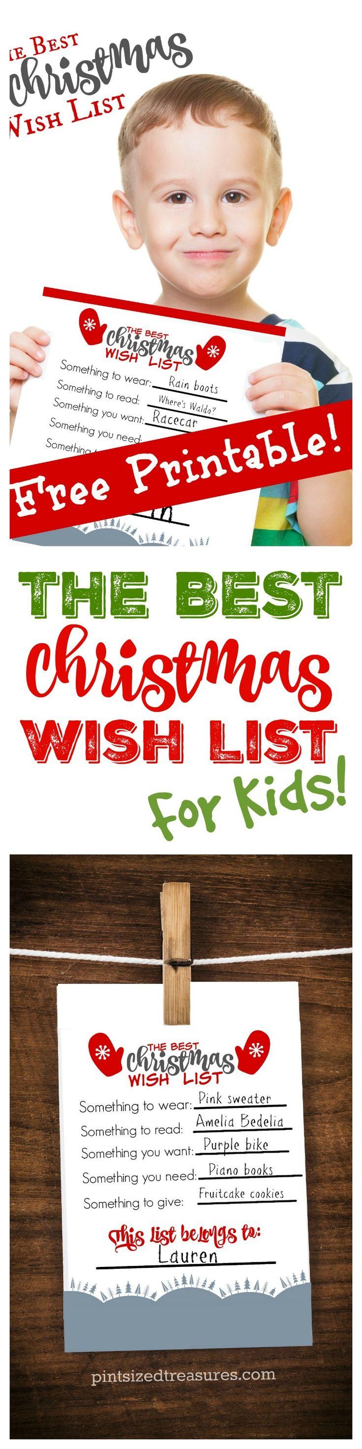 how to make your christmas list