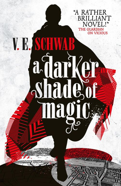 Books by Proxy | The Friday Face-Off  - A Darker Shade of Magic by V.E. Schwab - UK cover by Julia Lloyd
