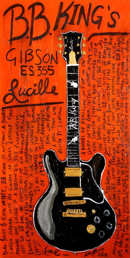 LUCILLE ~ BB King's Guitar