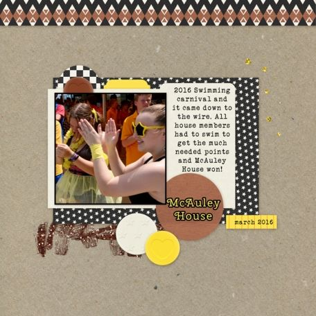 Quick Page Kit 28 #22 by Marisa Lerin Fonts - Cherry Swash and Veteran Typewriter