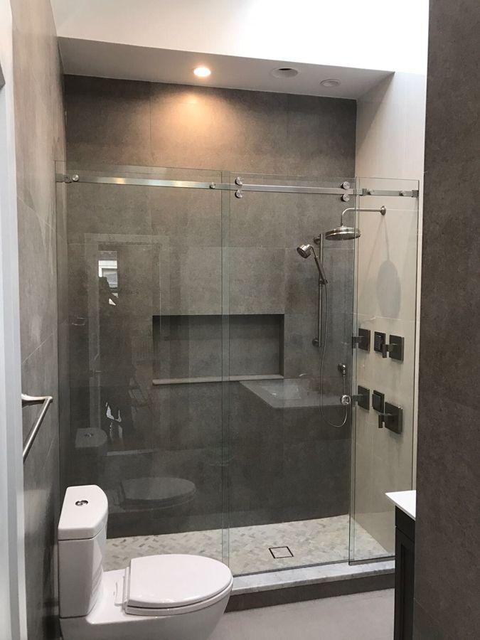 Redecor Frameless Shower Enclosure Modern Shower Shower Enclosure Bathroom Partitions