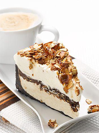 Italian Amaretto Mousse Pie