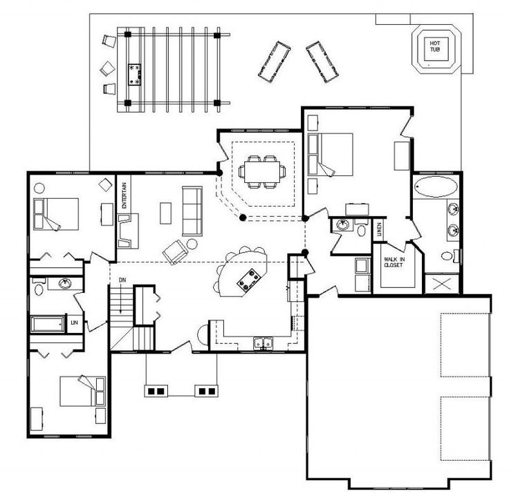 4 Bedroom Split Level Floor Plans Ideas   http   lovelybuilding com    Log  Home. 16 best Split level floor plans images on Pinterest
