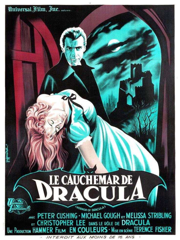 Le Cauchemar de Dracula (Horror of Dracula), Terence Fisher, sorti en 1958.