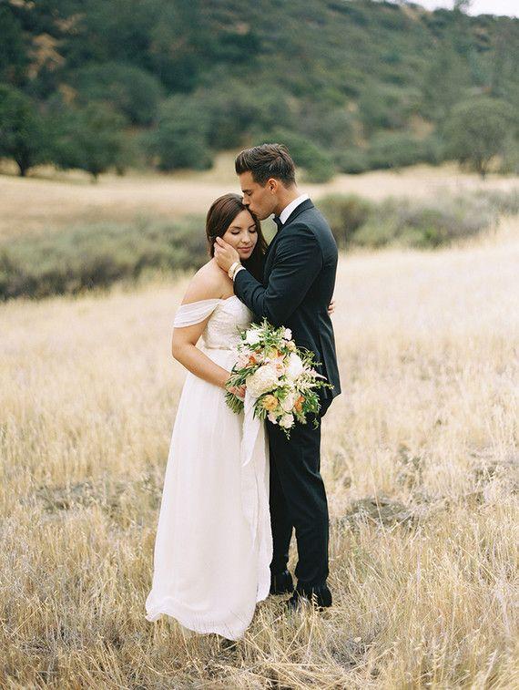 Rustic Figueroa Farmhouse spring wedding: Megan + Adam