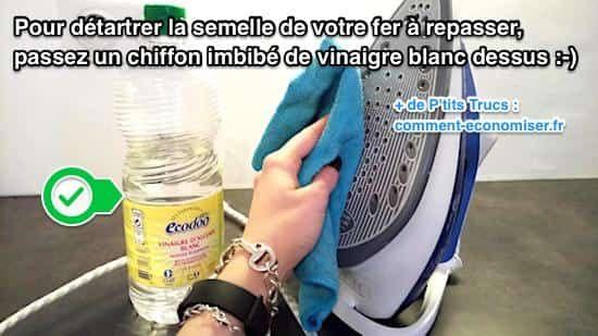 17 meilleures id es propos de fers sur pinterest lessive fer repasser - Astuce pour nettoyer semelle fer a repasser ...