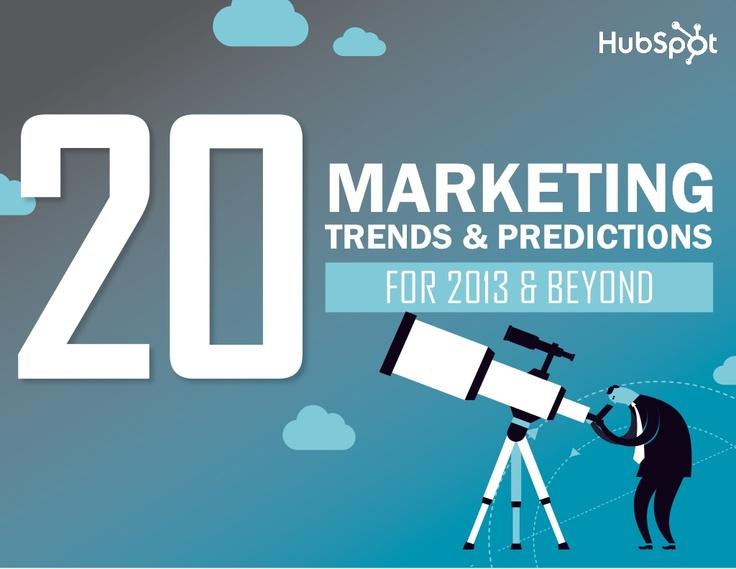 """No pierdas la oportunidad de descargarte la guía """"20 predicciones y tendencias en Marketing para 2013″ (pinned by @ricardollera)"""