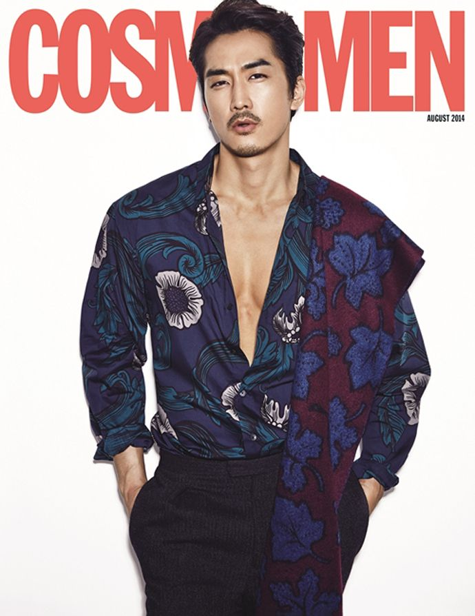 Song Seung Heon Is Sexy & Unshaven In Cosmopolitan Korea's August 2014 Issue | Couch Kimchi