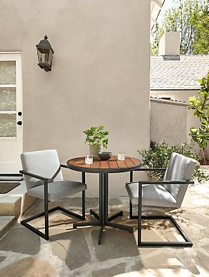 Bring Modern Comfort Outside With Our Finn Outdoor Dining Chair. An  Inviting Seat Covered In