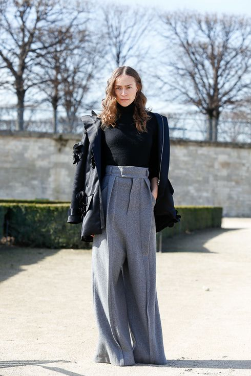Street Style of Paris | More photo at Fashionsnap.com